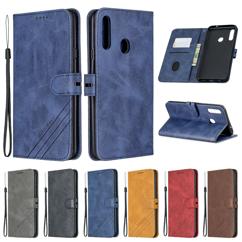 sFor Samsung Galaxy A10s Case Leather Flip Case For Coque Samsung A10s Phone Case Galaxy A 10S <font><b>A107F</b></font> Funda Magnetic Wallet Cover image