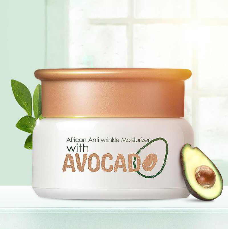 Avocado Anti Rimpel Gezichtscrème Anti Aging Alle Type Huid Hydrating Facial Lifting Verstevigende Peptide Serum Dag Nachtcrème TSLM1