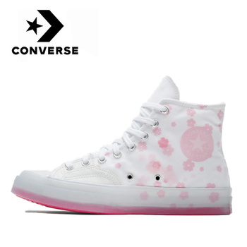 Authentic Converse Chuck 1970s Lightweight High shoes man and women classic sneakers Casual Fashion White Pink Flat Canvas Shoes