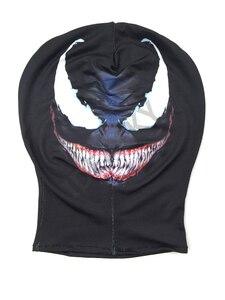 Image 2 - Disfraz de Spiderman simbionte Venom, disfraz de película Venom, disfraz de Zentai negro de Marvel, Disfraces de Halloween para hombres, adultos, niños, chicos, novedad 2018