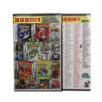 32ビットビデオゲームカートリッジコンソールカード369in 1コンパイル英語任天堂gba