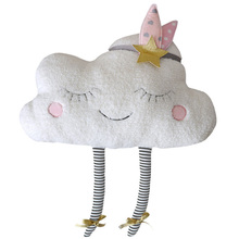 Baby Gift Girl Plush Pillow Soft Cushion Home PP Cotton For Children Stuffed Kids Toys Decoration Cute Clouds Shaped все цены