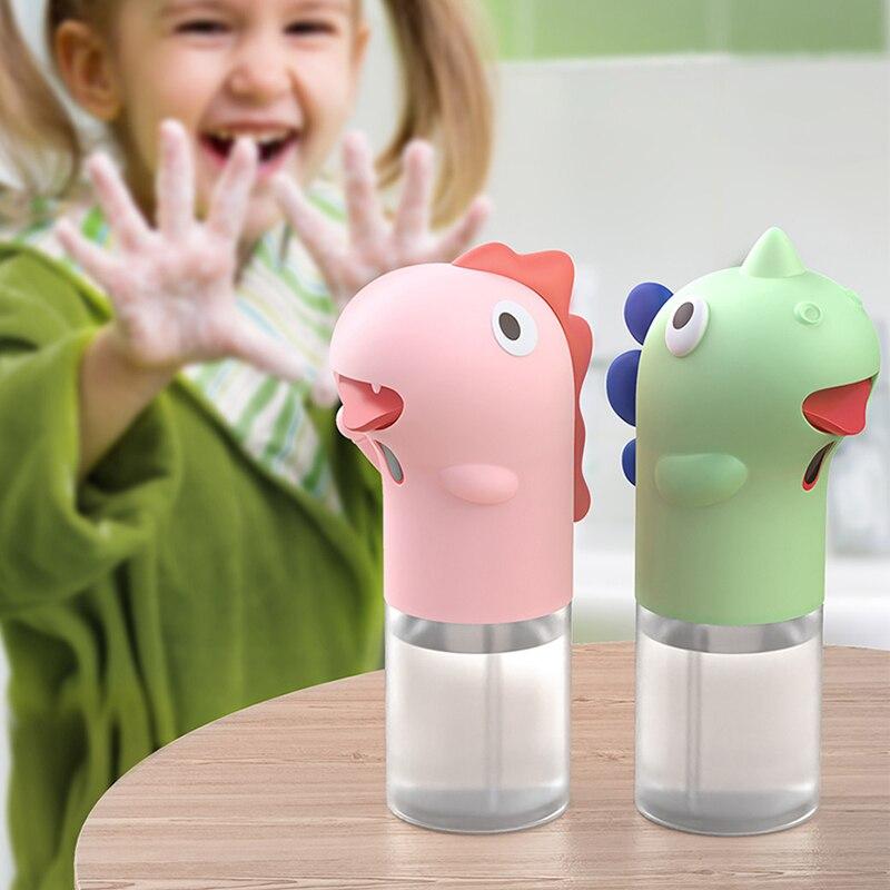 Автоматический дозатор для мыла для детей, индукционный диспенсер жидкого мыла для мытья рук, для ванной и кухни, домашний дозатор жидкого м...