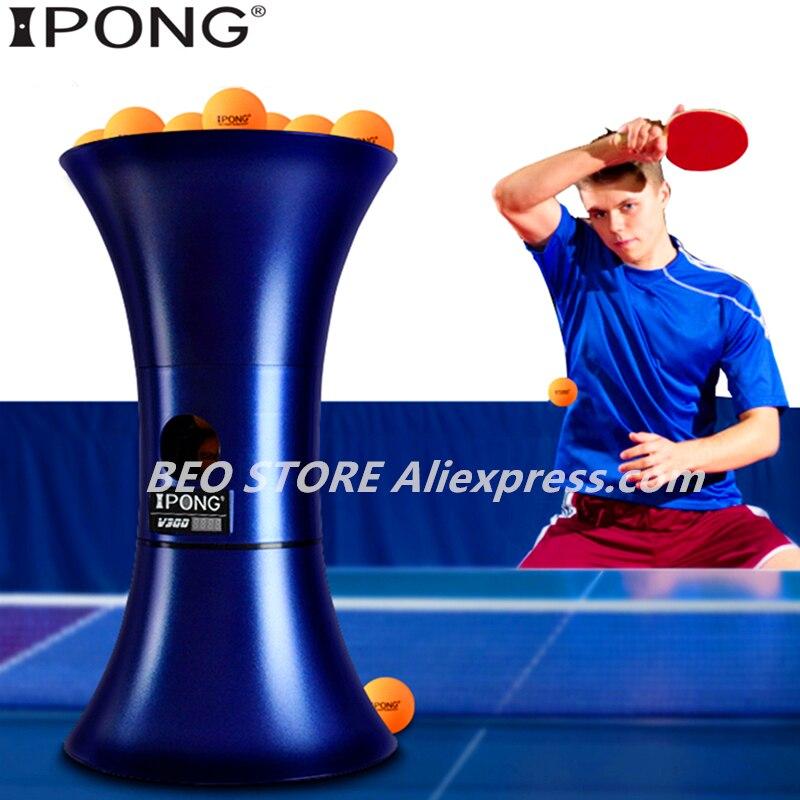 IPONG V300 машинный тренажер для настольного тенниса робот Тренировка Новая обновленная версия автоматической сервировочной машины для пинг п