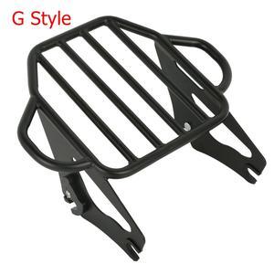 Image 4 - Rack para bagagem de motocicleta, rack destacável para barra sissy, kit de docking para harley touring road king, glide street glide 2014 2020