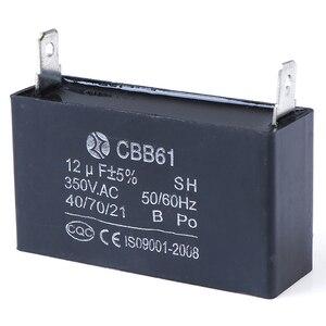Image 3 - CBB61 12 미크로포맷 50/60Hz 350VAC 팬 모터 발전기 커패시터 검정 12 미크로포맷 발전기 커패시터 생성기