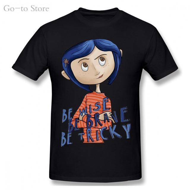 Мягкая футболка для мальчиков coraline винтажная новая хлопковая