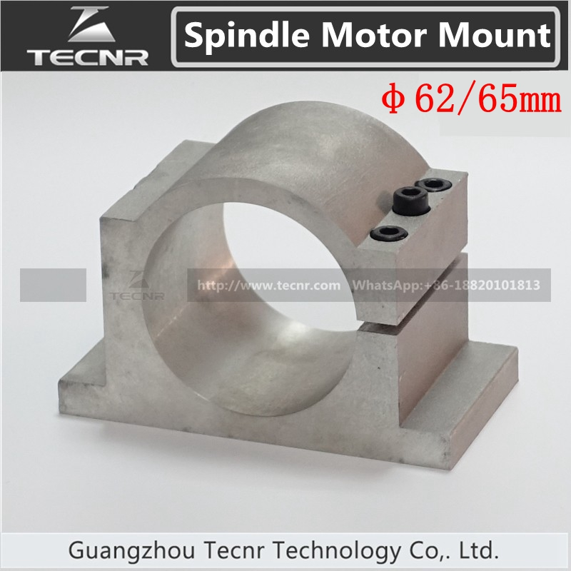 62mm 65MM Spindle Motor Mount Bracket Clamp Engraving Machine Parts For 800W Cnc Spindle Motor