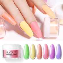 LILYCUTE 5g Glitter Colorful Nail Pearly Lustre Dipping Powder French System Natural Dry Art