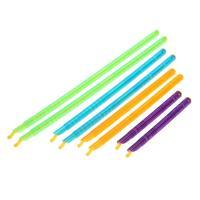 8PCS Kunststoff Tasche Clip Dichtung Stick Speicher Bar Lagerung Tasche Househoud Sealer Clamp Snack Frische Lebensmittel Stange Clip Küche werkzeuge