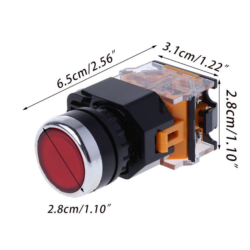 LA38-11/203 Push Button Momentary Press Switch Heavy Duty Power AXYF