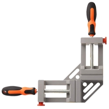 Double Handle Corner Clamp, 90 Degree Quick Release Corner Clamp For Welding, Wood-Working, Photo Framing