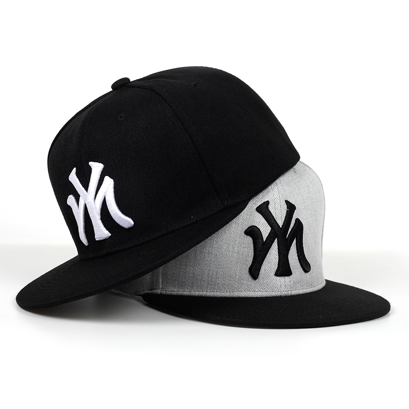 2019 New 100%cotton MY Letter Embroidery Baseball Cap Hip Hop Outdoor Snapback Caps Adjustable Flat Hats Outdoor Sun Hat