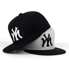 2019 new 100%cotton MY letter embroidery baseball cap hip ho