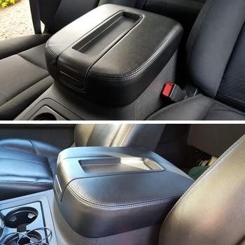 for 2007-2014 Chevy Avalanche Silverado Chevrolet Suburban Tahoe GMC Sierra Yukon XL LT Z7 Center Console Lid Armrest Cover Kit