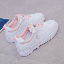 New 2021 Summer And Autumn Breathable Small White Shoes Female INS Student Running Shoes Korean Version Of The Wild Flat Casual