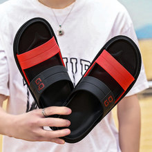 COOLVFATBO Men Slippers EVA Non-slip Outdoor Beach Flip Flops 2020 Summer Casual Shoes Slides Black Sandal Plus Size 40-45(China)