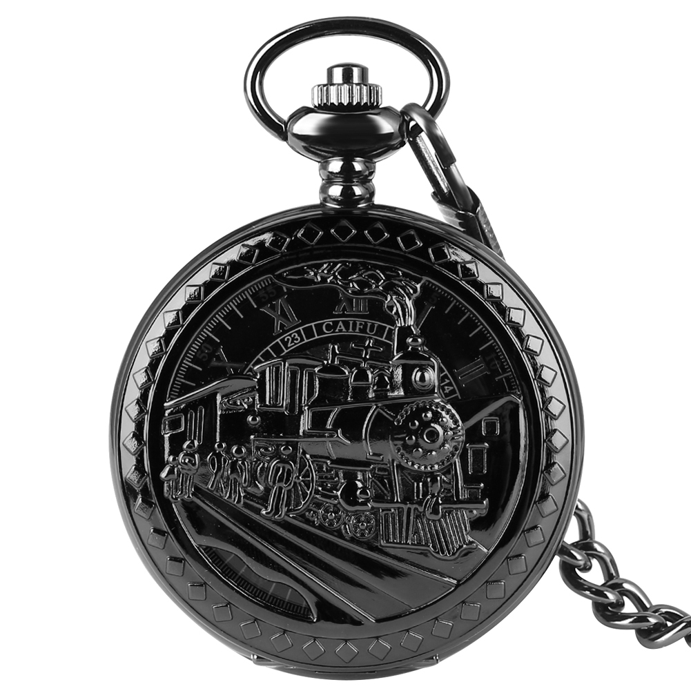 Antique Hollow-out Dial  Pocket Watch For Men Women Necklace Pendant Chain Clock Mechanical Pendant Watches Relogio Montres