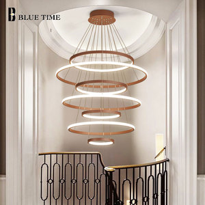 Circle Modern Led Chandeliers