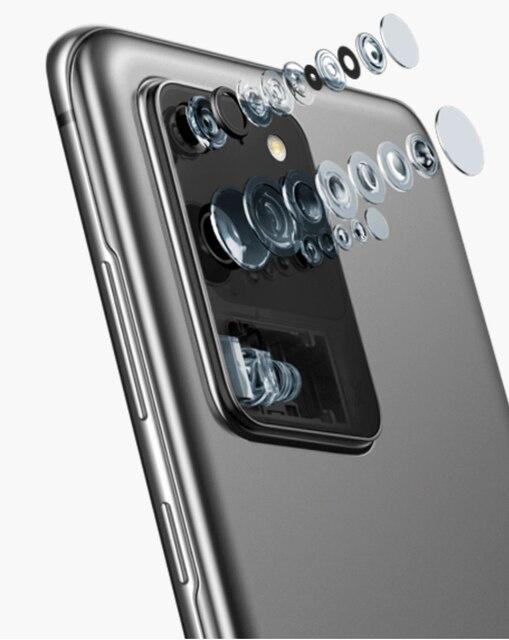 Samsung Galaxy S20 5G/S20+ 5G/S20 Ultra 5G 6.2/6.7/6.9″ Display 64/108MP 30x/100x Zoom Smartphone
