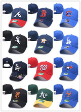Groothandel Vader Hoeden Mode La Dodgers Baseball Caps Boston Red Sox Snapback Hoeden Hip Hop Bone Voor Mannen Vrouwen Gorras braves(China)