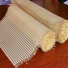 Плетеная трость из натурального индонезийского ротанга, 50-95 см, рулон мебели, стула, стола, Ремонтный материал, двери шкафа, Потолочный Насте...