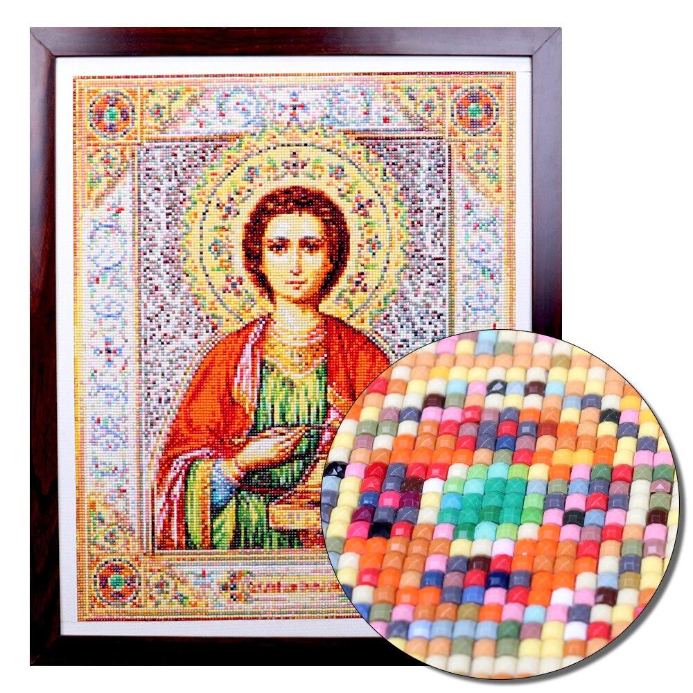 Pdmdog полностью квадратная круглая дрель diy Алмазная картина