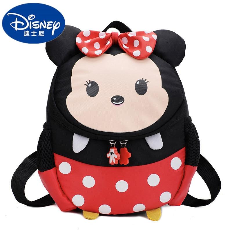 Disney New Mickey Mouse Children's School Bag Kindergarten Baby Child Backpack Men And Women Mickey Minnie Cute Cartoon Backpack