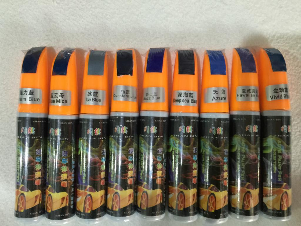 Blue Series-1pcs Azure Hawaiian Blue Pro Mending Car Remover Scratch Repair Paint Pen Clear For KIA K2 RIO,K3, K5 OPTIMA, SOUL