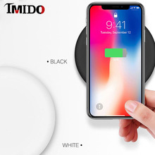 For iPhone XS Max XR X 8PLUS 8 Best Wireless Charging Pad For Samsung S8 Xiaomi Huawei Google Asus 10W Qi Fast Wireless Charger