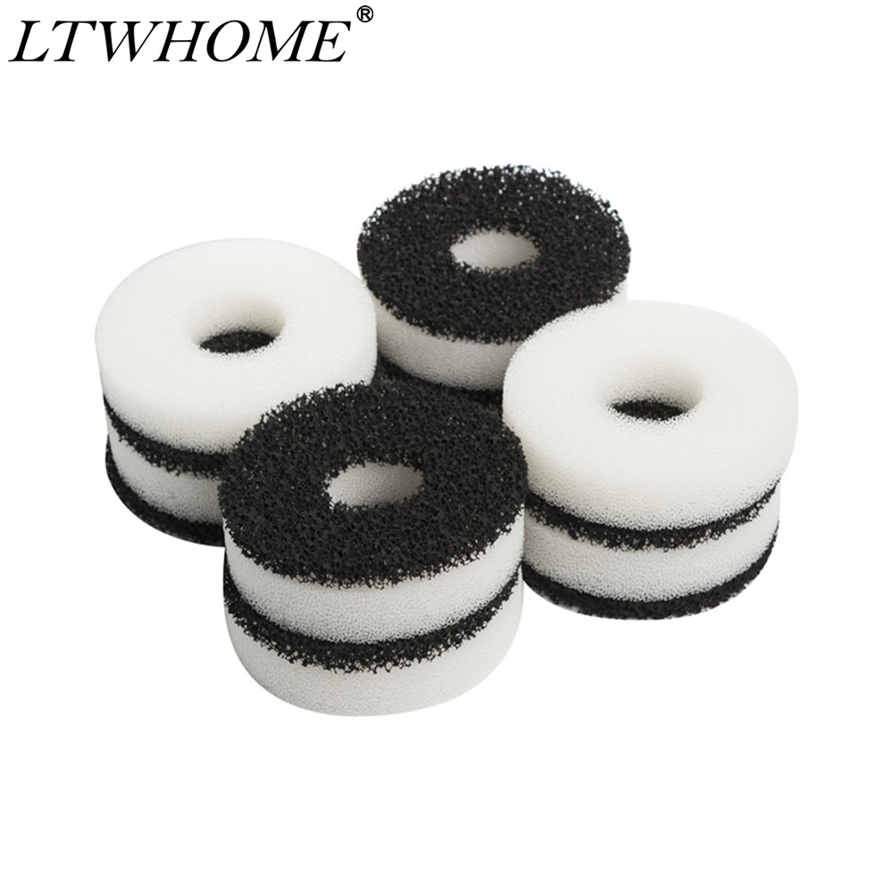LTWHOME Compatiable Foam And Carbon Rings Fit For Biorb Filter Set / Service Kit