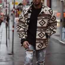Мужчина + мода + принт + куртка + повседневная + хлопок + уличная одежда + шорты + стиль + джинсовая ткань + куртка + пальто + для + весна + осень + мужчины + отложной + воротник + куртки