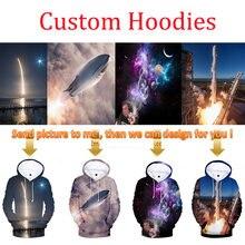 Custom 3D Hoodies Logo Text Photo 3D Full Print Men Women Personalized Customize Sweatshirt Customization Drop ship Brand Design