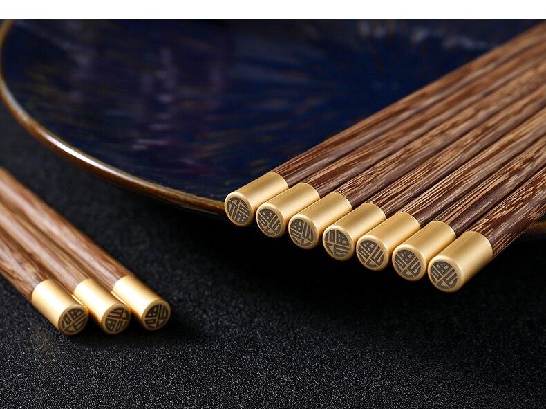 Купить 20 пар цельных деревянных многоразовых безвосковых высококачественных
