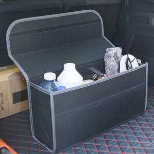 Image 5 - SPEEDWOW רכב Trunk ארגונית רכב רך הרגיש אחסון תיבת מטען מיכל תיבת תא מטען תיק Stowing לסדר בעל רב כיס