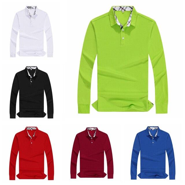 Plus ขนาดผู้หญิงเสื้อโปโลคุณภาพสูงผ้าฝ้ายแขนยาวเสื้อฤดูใบไม้ร่วงหญิง Breathable Sweatshirt กิจกรรมชุดการปรับแต่ง Plus ขนาดผู้หญิงเสื้อโปโลคุณภาพสูงผ้าฝ้ายแขนยาวเสื้อฤดูใบไม้ร่วงหญิง Breathable Sweatshirt กิจกรรมชุดการป