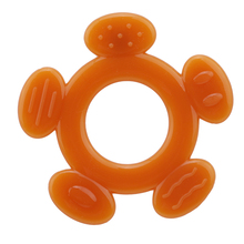 New Baby Silicone Teething Toy Little Babies Teether Chewabl