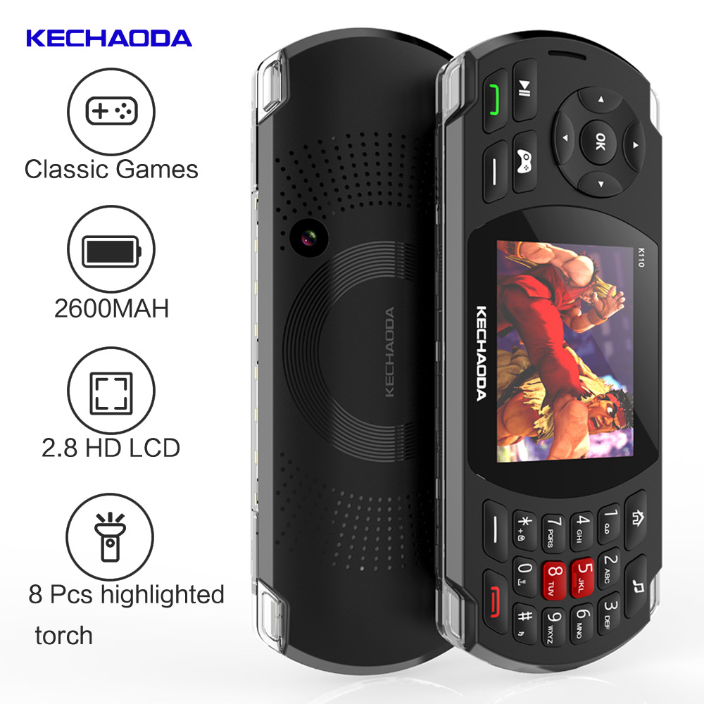 GUOPHONE K110 2.8 SC6531E 32MB 2600mAh Support 32G Game Phone 84 Models Mobile Phones Cheap Phone 2019 image