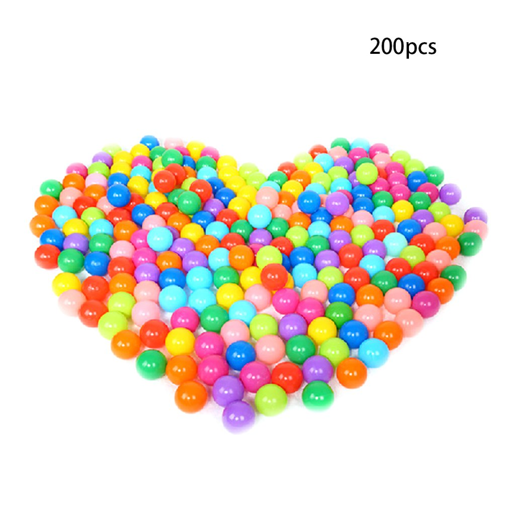 Children'S Toys Thick Plastic Ball Wave Ball Environmental Protection Toy Marine Ball 5.5Cm-25 Mesh Bag