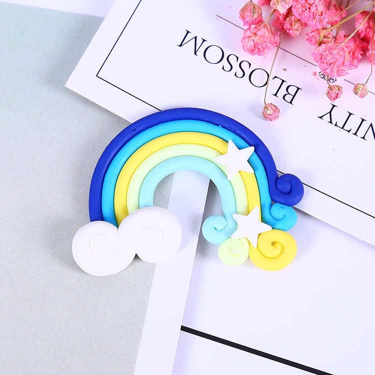 Toevoeging Slime Bedels voor Slime Levert Filler DIY Polymeer Zachte aardewerk rainbow Accessoires Speelgoed Lizun Model voor Kid Speelgoed Gift