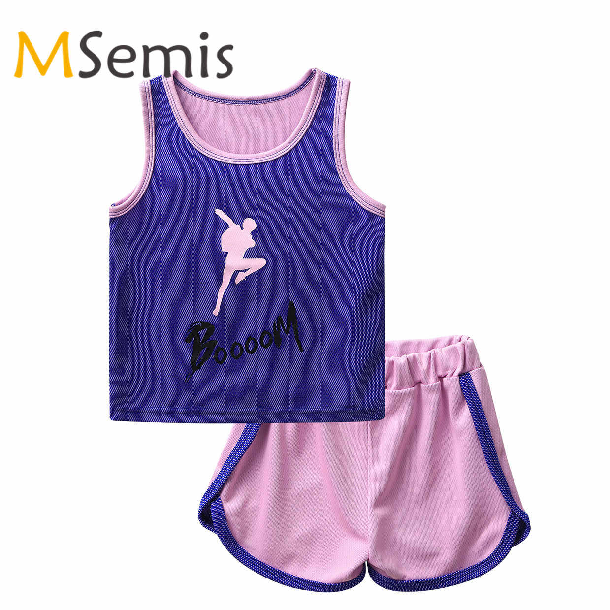 Kids Vest Childrens Running Training Gym Sports Breathable Sleeveless Tank Top