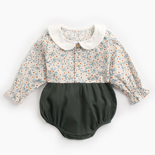 Girls Rompers New Born Clothing Infant Cotton Cartoon Fox Cute Baby Toddler Autumn