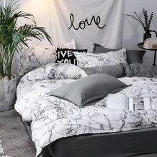 Set biancheria da letto trapunta 3 pezzi set biancheria da letto Queen King set copripiumino nordico copripiumino lenzuola federa decorazioni per la casa tessili