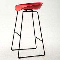 Nordic Style Barstool Modern Creative Simple Leisure Home Bar Tea Shop Various Colour High Foot Barstool
