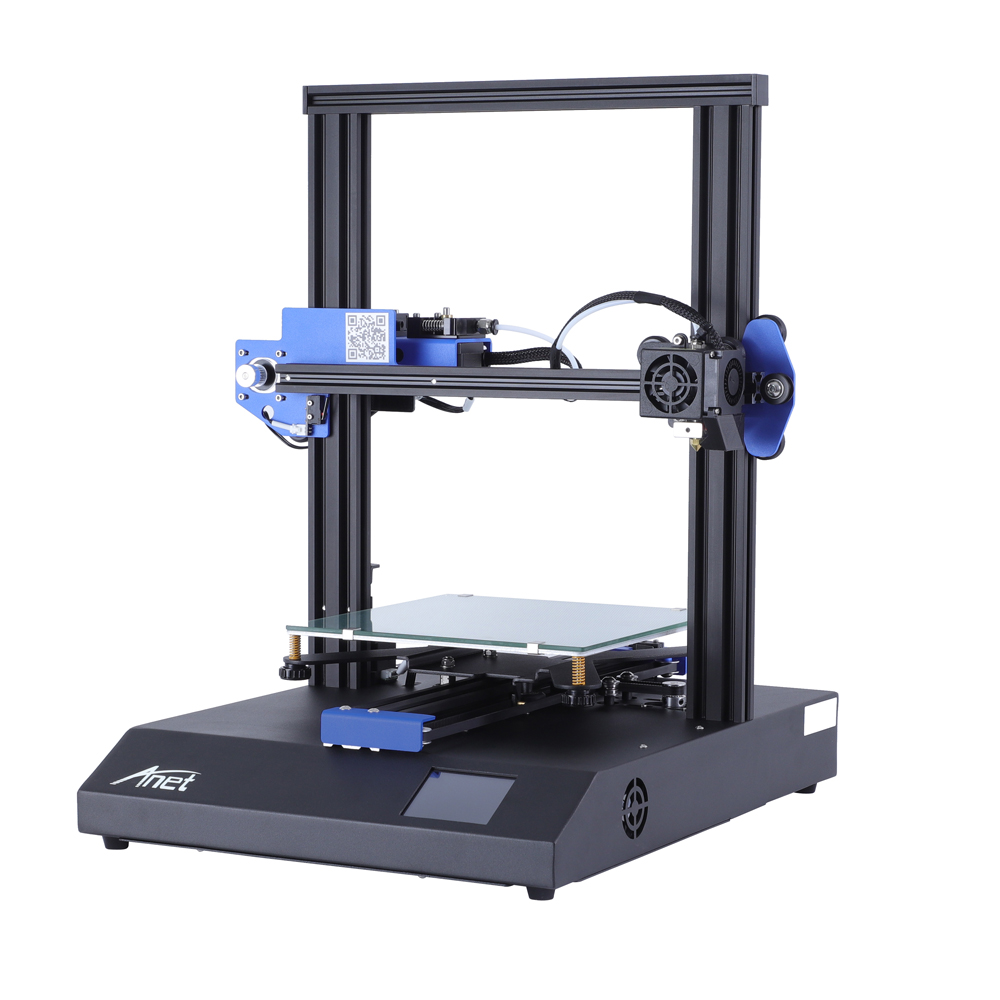 ANET ET4 and ET4 X 3D Printer with Filament Detection/Offline Printing and Color Touch Screen 4