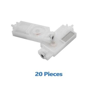 цена на 20pcs JV33 Ink damper for Mimaki JV33 JV5 CJV30 Printhead Damper Compatible solvent ink filter dx5 printer print head DX5 damper