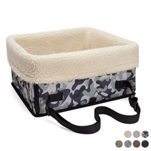 TAILUP Pet Dog Car Seat Carrier Foldable Portable Safety Multifunction Booster Travel Bed Waterproof For Small Bucket