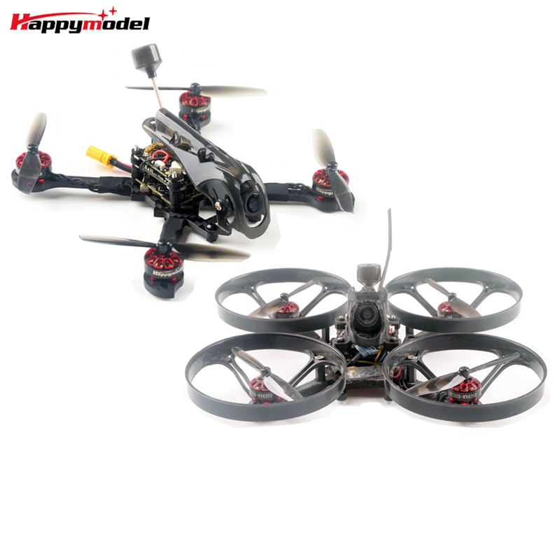 Original Happymodel Larva X HD 125mm F4 2-3S  Toothpick HD Whoop HD 2in1 FPV Racing Drone PNP BNF With Caddx Baby Turtle