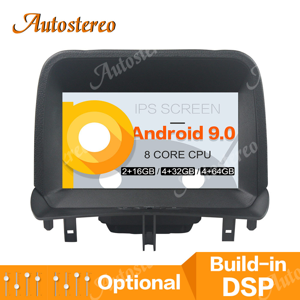 Octa Core PX6 Android 9 4GB Car DVD Player GPS Map Navigation For Ford Tourneo Courier 2014-2016 Car Multimedia Player Car Radio