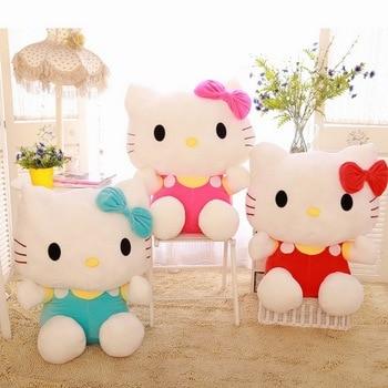 2020 Hot Sale Disney 20CM Cute Kawaii KT Cat Plush Toys Lovely Stuffed Animal Hello Kitty Dolls Pillow Christmas gifts for Kids цена 2017